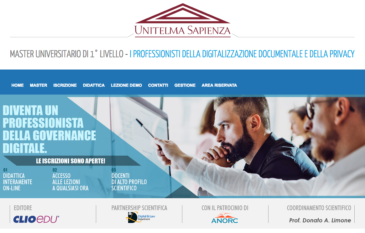 Master in Governance Digitale
